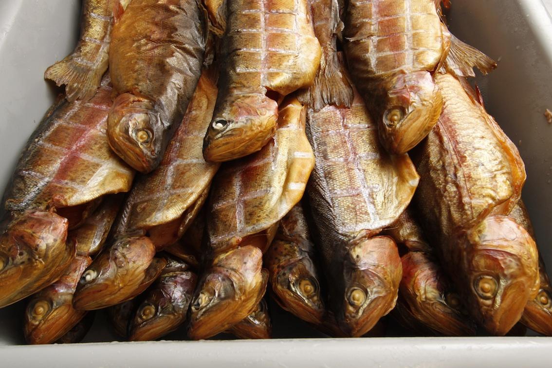 What dreams smoked fish 7