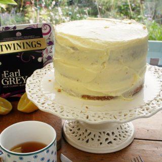 earl grey triple layer cake