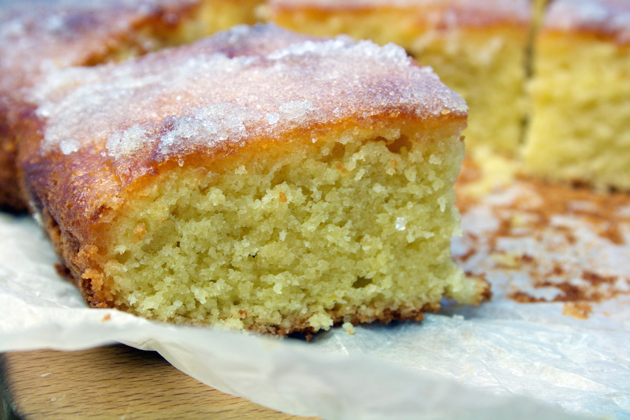Recipe For Egg Free Lemon Drizzle Cake
