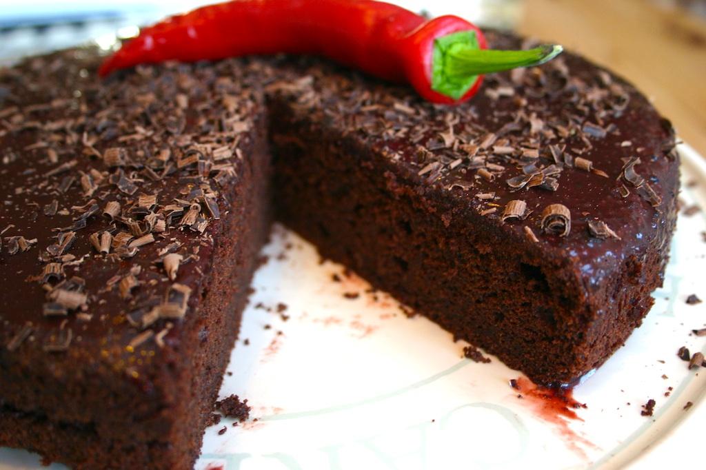 chili chocolate orange cake - we should cocoa - Belleau Kitchen