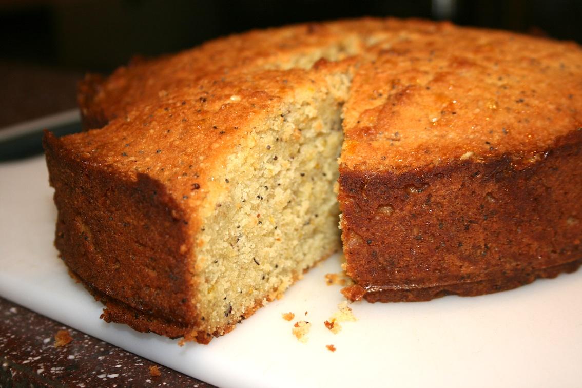 Greek Semolina Honey Cake