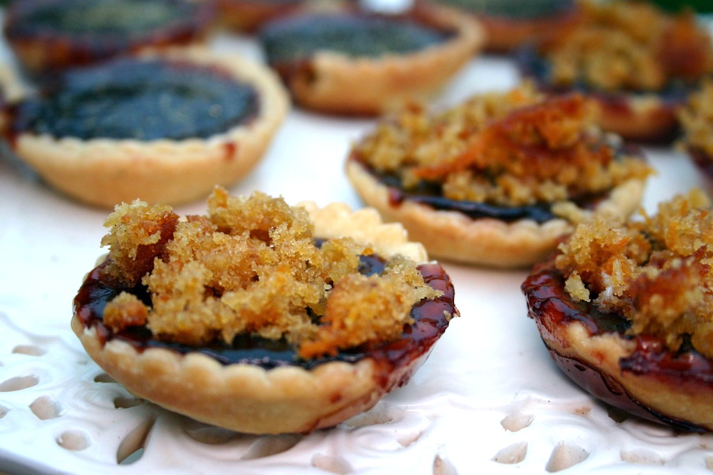 Bramble and liquorice jam tarts belleau kitchen for Easy jam tarts ready made pastry