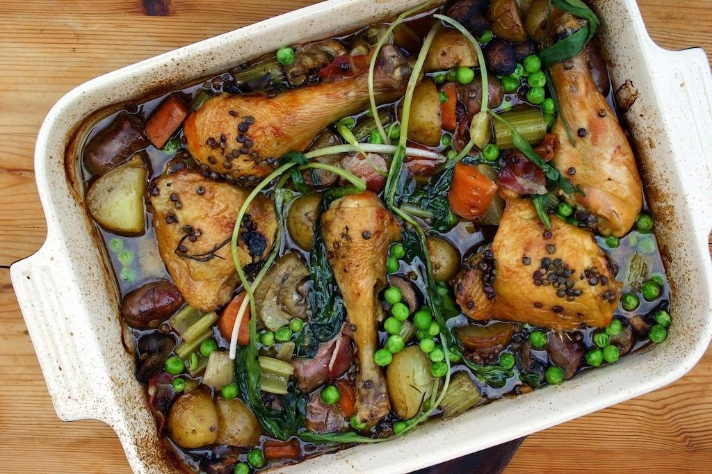 Food Waste Weekend Chicken Thigh Sausage And Wild Garlic Fridge Amp Freezer Stew Belleau Kitchen