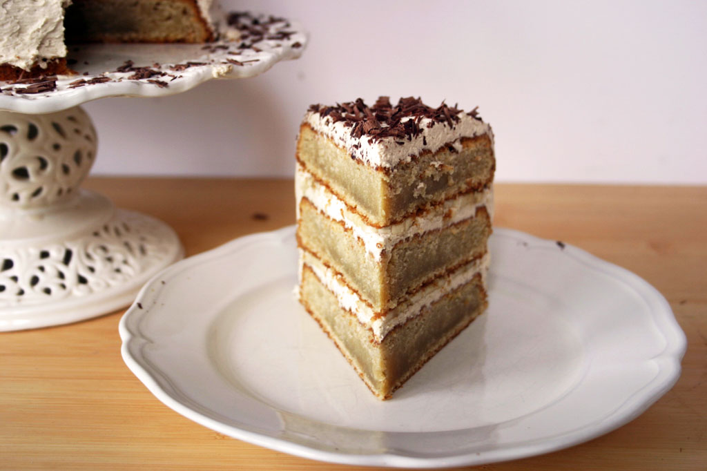 Coffee And Banana Triple Layer Cake Belleau Kitchen