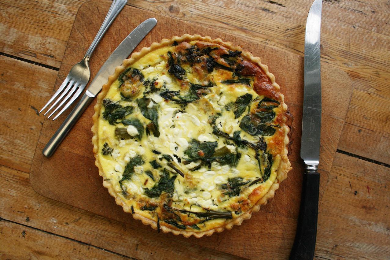 tenderstem broccoli spinach and cottage cheese quiche belleau kitchen rh belleaukitchen com cottage cheese frittata spinach cottage cheese frittata recipe