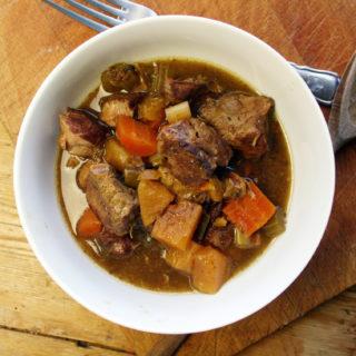 slow-cooker lamb stew