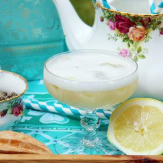 Jasmine Gin Fizz Cocktail