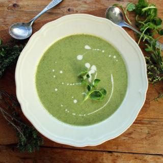 watercress soup