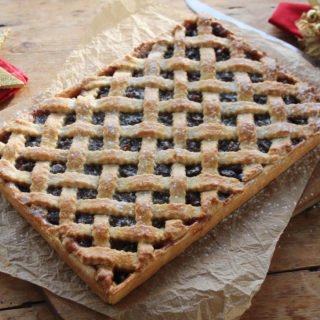 lattice mince pie