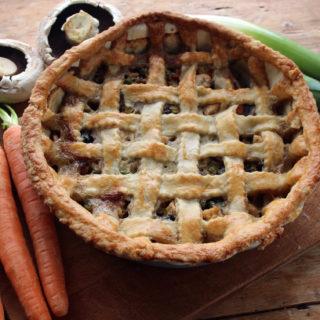 cheesy vegetable pie