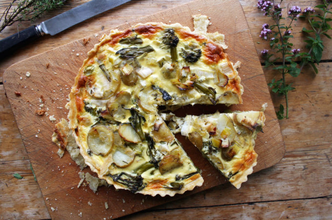 vegetable quiche