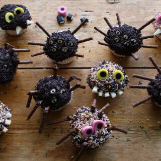 Halloween Monster Cupcake