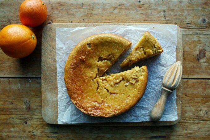 citrus fruit cake