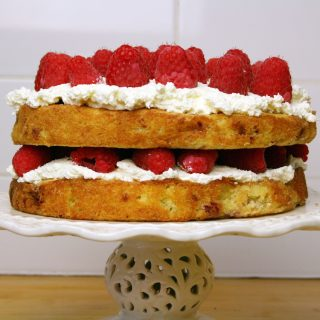 frozen raspberry cake