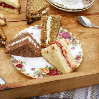 illusionary cake sandwiches