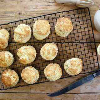 lemon zest scones