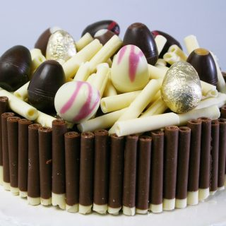 confused-religion gluten-free chocolate cake – and a Hotel Chocolat Giveaway