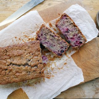 blackberry loaf cake