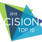 Cision Top 10 2015