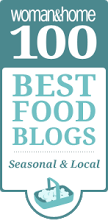 woman and home 100 best food blogs seasonal and local