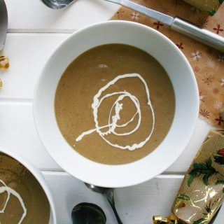 christmas chestnut soup