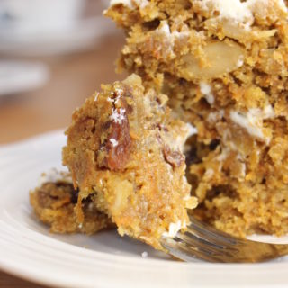 coconut and carrot cake