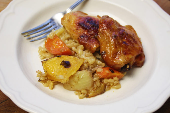 marmalade chicken thighs