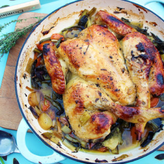 May Day Marmalade Spatchcock Chicken