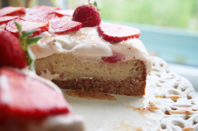 sstrawberry curd cheesecake