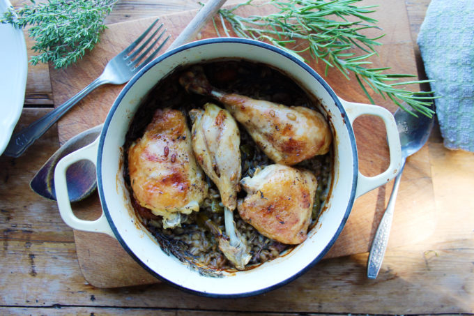 chicken thigh stew