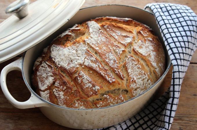 spelt and rye loaf